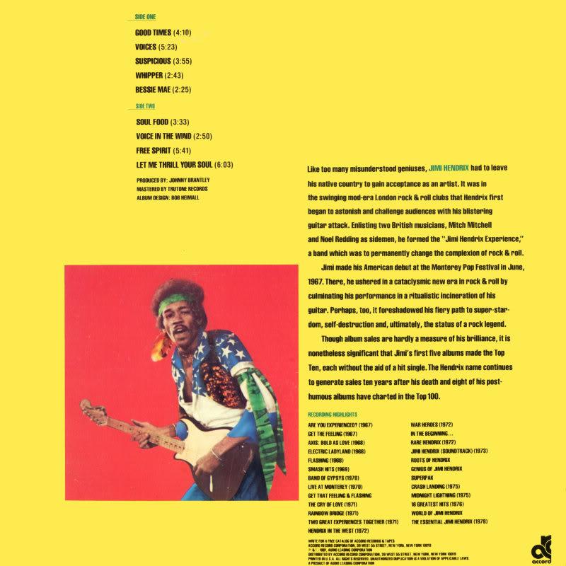 Discographie : Enregistrements pré-Experience & Ed Chalpin  - Page 2 Freespirit2