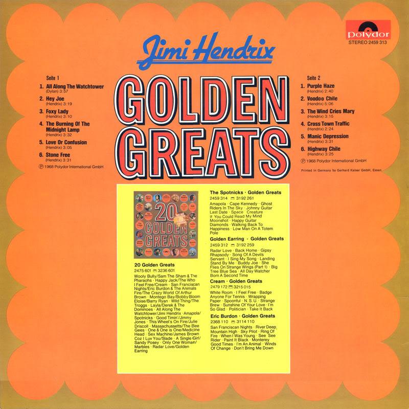 Discographie : Rééditions & Compilations - Page 5 GoldenGreatsBack