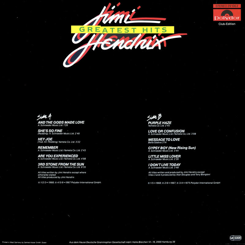 Discographie : Rééditions & Compilations - Page 7 GreatestHits-clubedition-Polydor291062Back