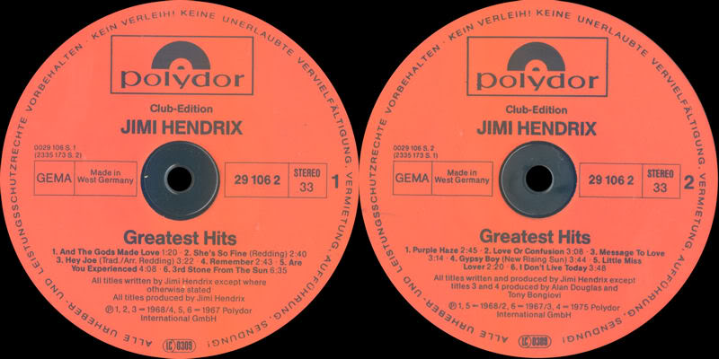 Discographie : Rééditions & Compilations - Page 7 GreatestHits-clubedition-Polydor291062Label