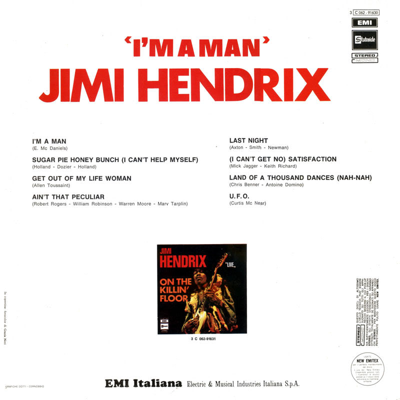 Discographie : Enregistrements pré-Experience & Ed Chalpin  - Page 2 ImAManItalieBack