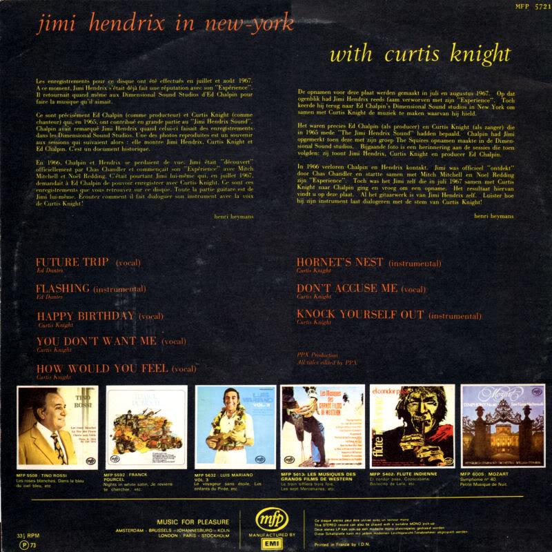 Discographie : Enregistrements pré-Experience & Ed Chalpin  - Page 2 InNewYorkBack