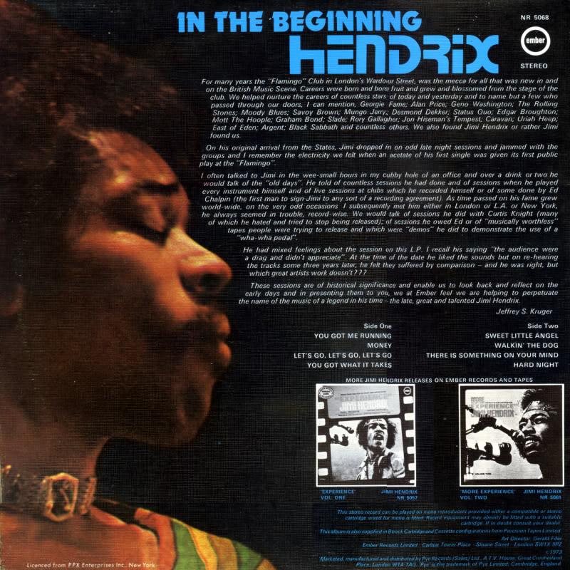 Discographie : Enregistrements pré-Experience & Ed Chalpin  - Page 2 InTheBeginningInsideGauche