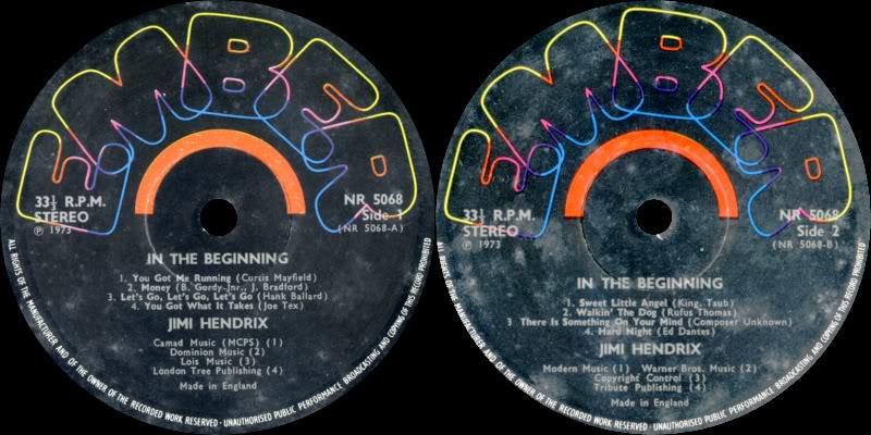 Discographie : Enregistrements pré-Experience & Ed Chalpin  - Page 2 InTheBeginningLabel
