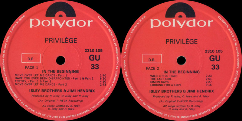 Discographie : Enregistrements pré-Experience & Ed Chalpin  - Page 5 IsleyBrothersThe-InTheBeginningLabel