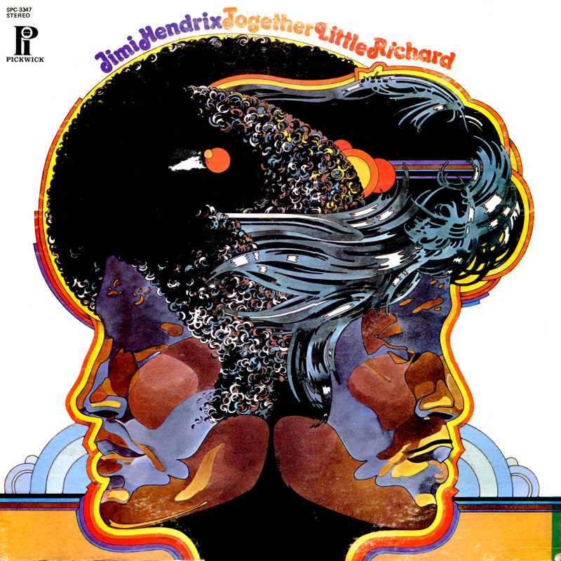 Discographie : Enregistrements pré-Experience & Ed Chalpin  JimiHendrixLittleRichard-TogetherFront