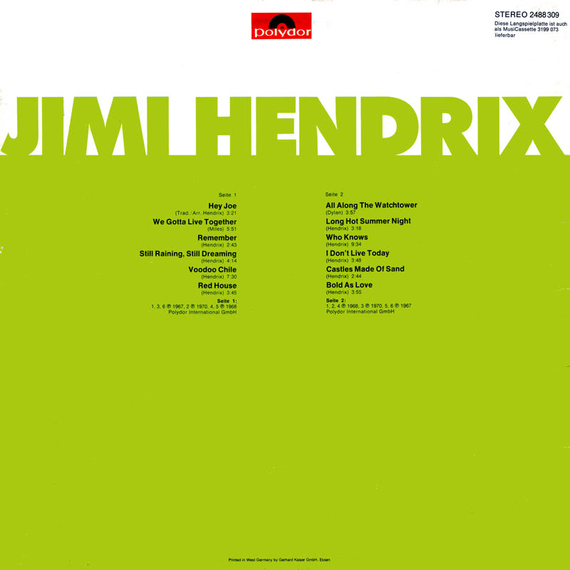 Discographie : Rééditions & Compilations - Page 4 JimiHendrixPolydor1978Back