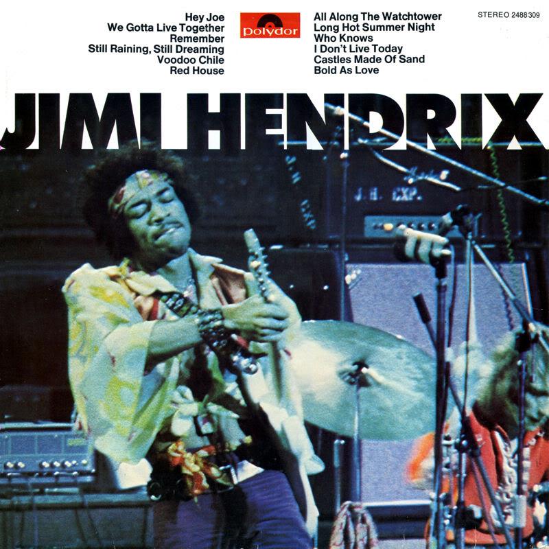 Discographie : Rééditions & Compilations JimiHendrixPolydor1978Front