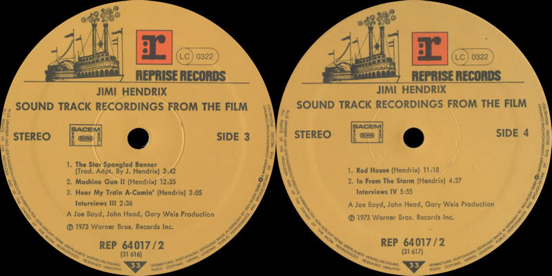 Sound Track Recordings From The Film Jimi Hendrix (1973) JimiHendrixSoundtrackRecordingsFromTheFilmLabel2