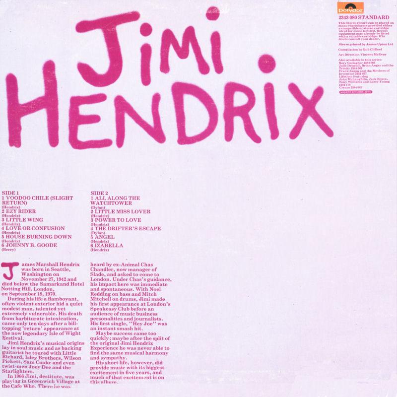 Discographie : Rééditions & Compilations JimiHendrixcollectionStandardDos_zpsbdeacd91