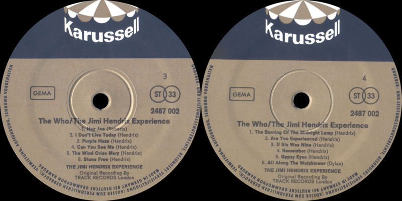 Discographie : Rééditions & Compilations - Page 2 JimiTheWhoKarussellLabel
