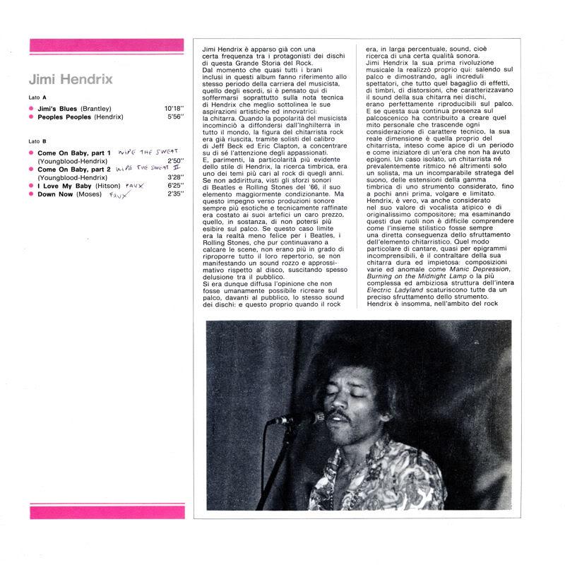 Discographie : Enregistrements pré-Experience & Ed Chalpin  - Page 5 LagrandeStoriaDelRock60Insidegauche