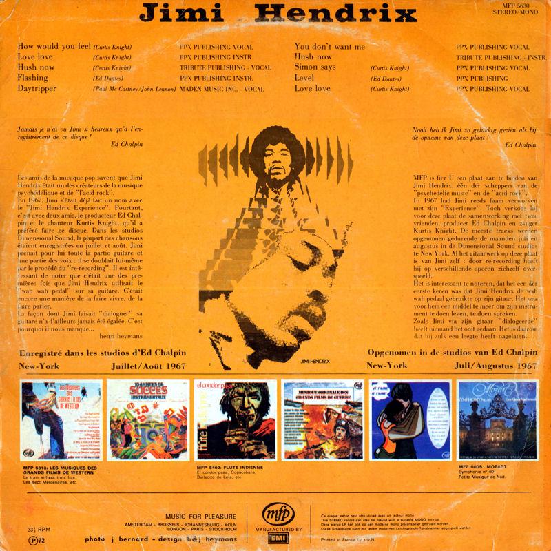 Discographie : Enregistrements pré-Experience & Ed Chalpin  - Page 7 MFP5630Back_zps18356297