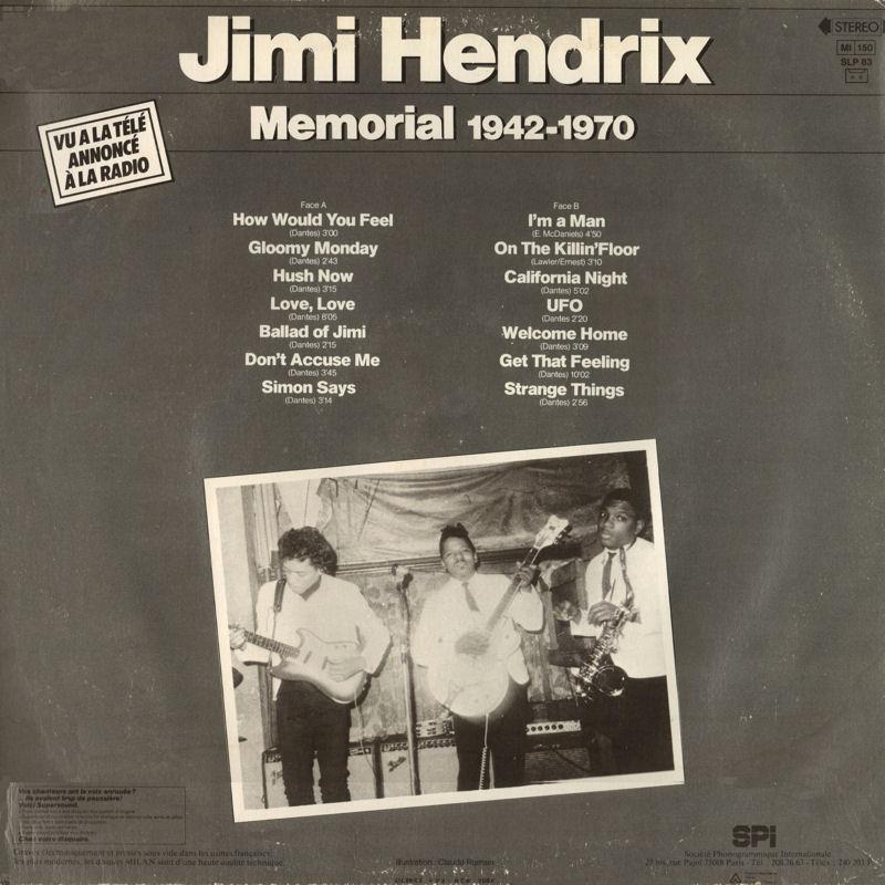 Discographie : Enregistrements pré-Experience & Ed Chalpin  - Page 7 MilanSLP83-MemorialAlbumBack_zps1f424dc1