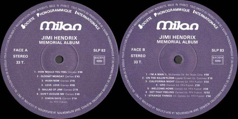 Discographie : Enregistrements pré-Experience & Ed Chalpin  - Page 7 MilanSLP83-MemorialAlbumLabel_zps42414356