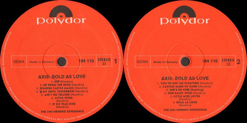Discographie : Rééditions & Compilations - Page 9 Polydor184110AxisBoldAsLoveLabel_zpsbb4ad54b