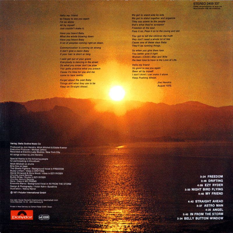 Discographie : Rééditions & Compilations - Page 10 Polydor2459337-TheCryOfLoveBack_zps65e427c6