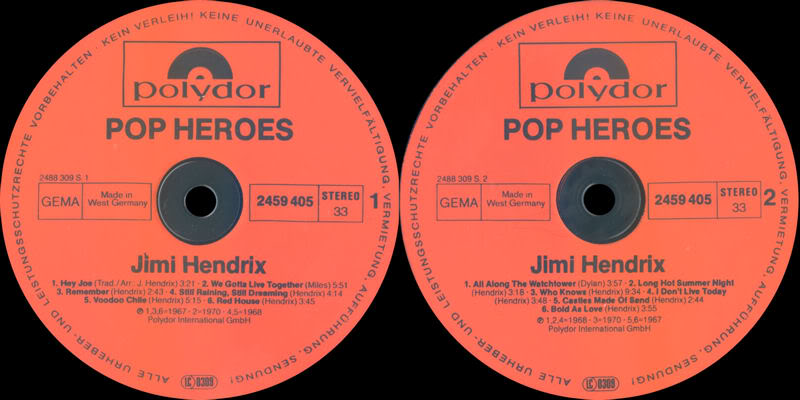 Discographie : Rééditions & Compilations - Page 7 Polydor2459405PopHeroesLabel