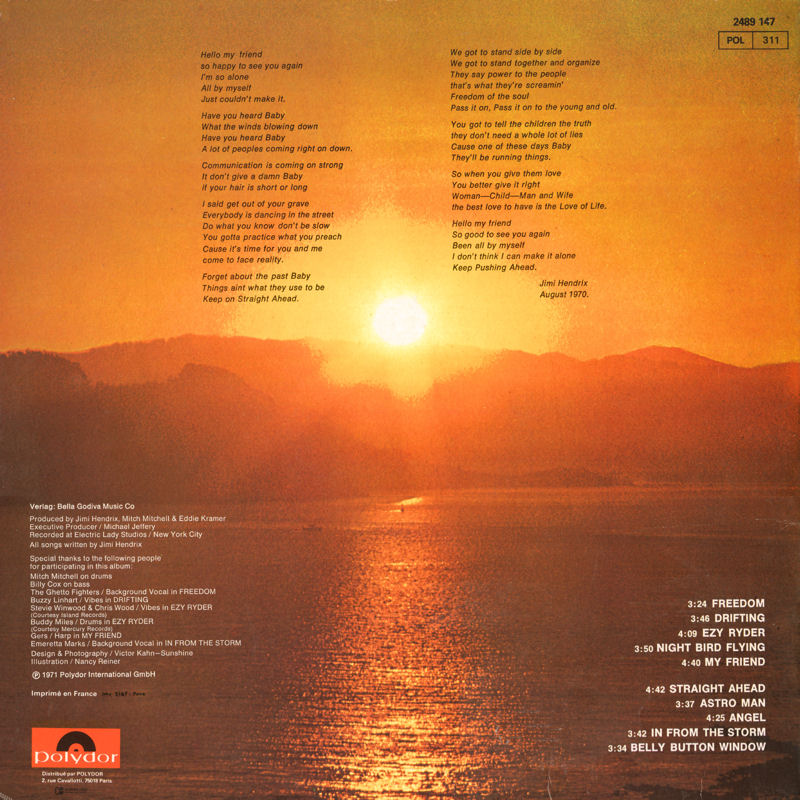 Discographie : Rééditions & Compilations - Page 10 Polydor2489147-TheCryOfLoveBack_zps551a1870