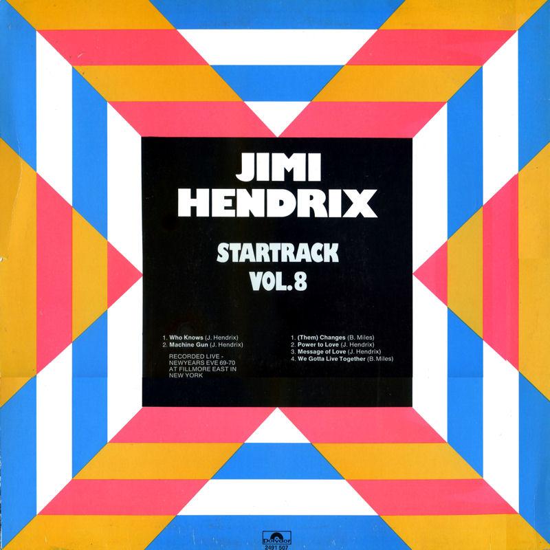 Discographie : Rééditions & Compilations - Page 7 Polydor2491507-StartrackVol8Back