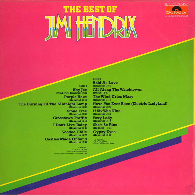Discographie : Rééditions & Compilations - Page 7 Polydor27545-3TheBestOfBack_zps9f56aabb
