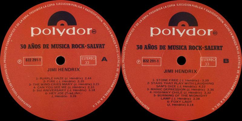 Discographie : Rééditions & Compilations - Page 7 Polydor822291-1-30AnosDeMusicaRockLabel