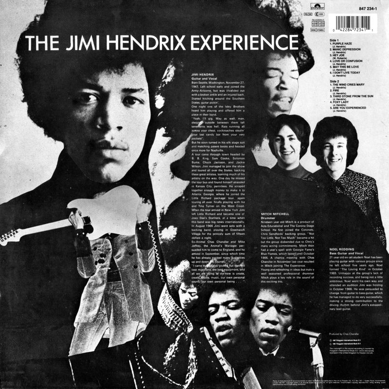 Discographie : Rééditions & Compilations - Page 10 Polydor847234-1-AreYouExperiencedBack_zps4562d6f8