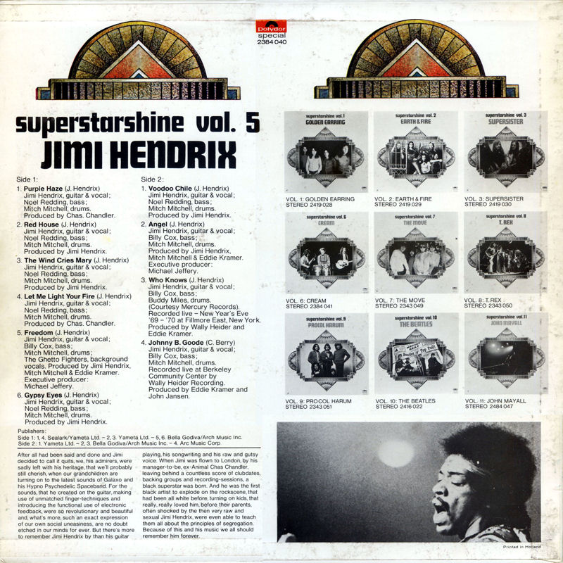 Discographie : Rééditions & Compilations - Page 7 PolydorSpecial2384040-SuperstarshineBack