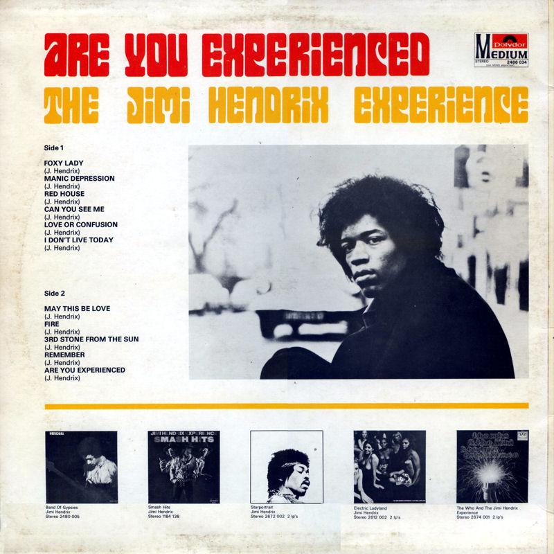 Discographie : Rééditions & Compilations - Page 7 Polydormedium2486034AreYouExperiencedBack