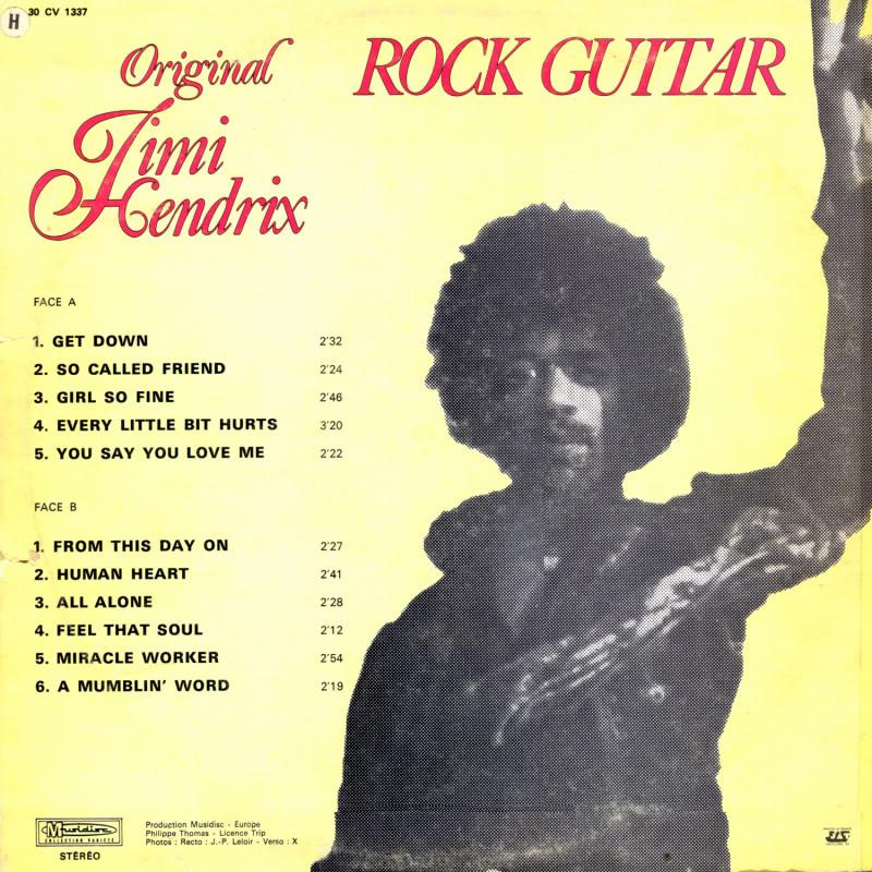 Discographie : Enregistrements pré-Experience & Ed Chalpin  - Page 2 RockGuitarBack