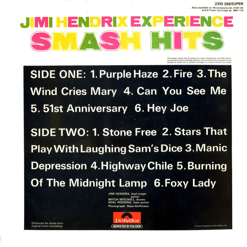 Discographie : Rééditions & Compilations SmashHitsB