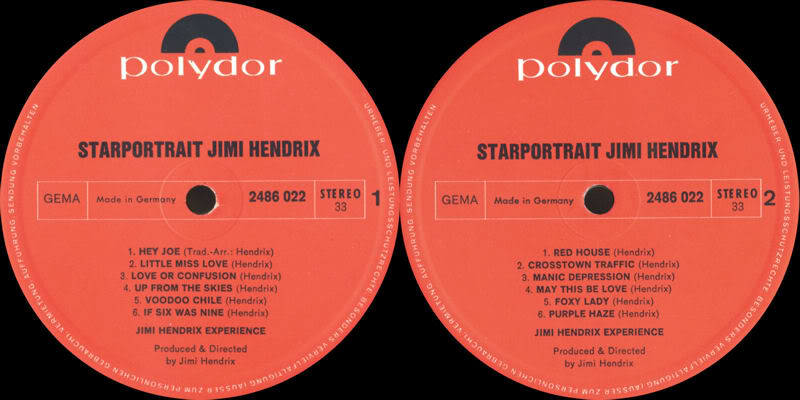 Discographie : Rééditions & Compilations - Page 2 StarportraitJimiHendrixExperienceRecord1