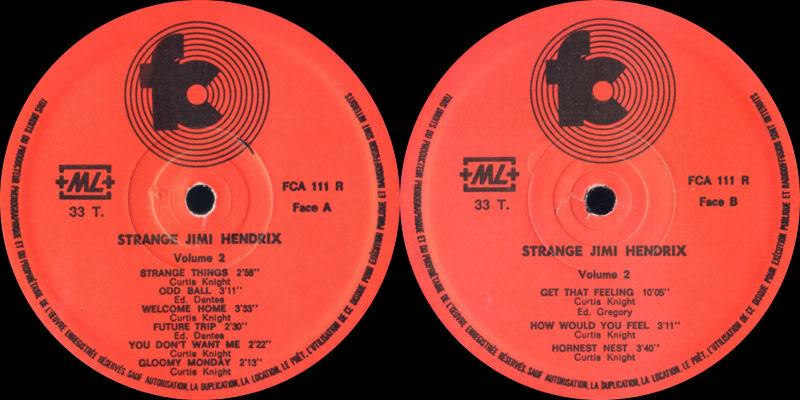 Discographie : Enregistrements pré-Experience & Ed Chalpin  - Page 2 StrangeLabel