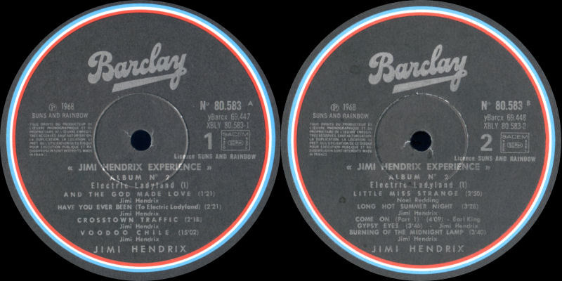 Discographie : Made in Barclay - Page 2 SunsandRainbowVolume2ElectricLadylandBarclayLabel1_zps333cffed
