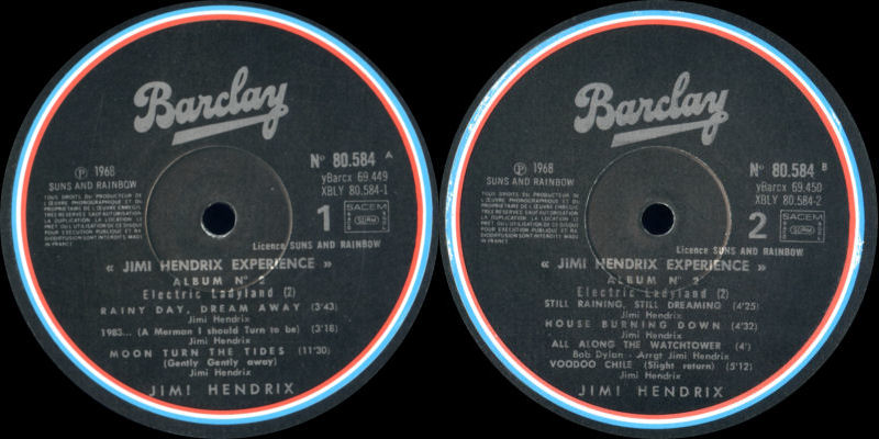 Discographie : Made in Barclay - Page 2 SunsandRainbowVolume2ElectricLadylandBarclayLabel2_zps995f799c