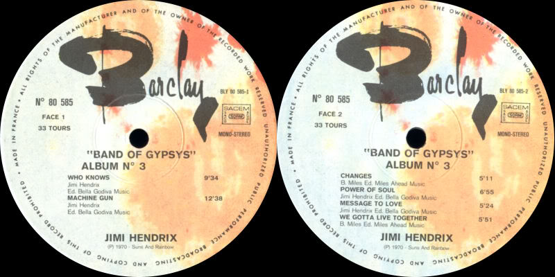 Discographie : Made in Barclay - Page 2 SunsandRainbowVolume3BarclayLabel1