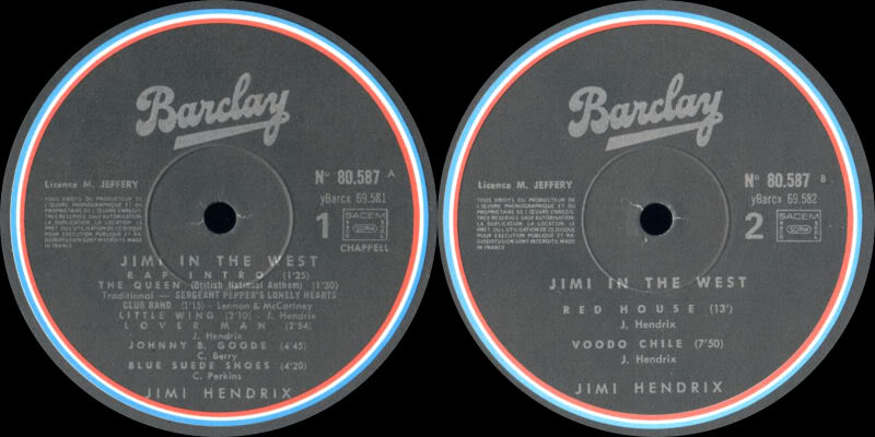 Discographie : Made in Barclay - Page 2 SunsandRainbowVolume4BarclayLabel1