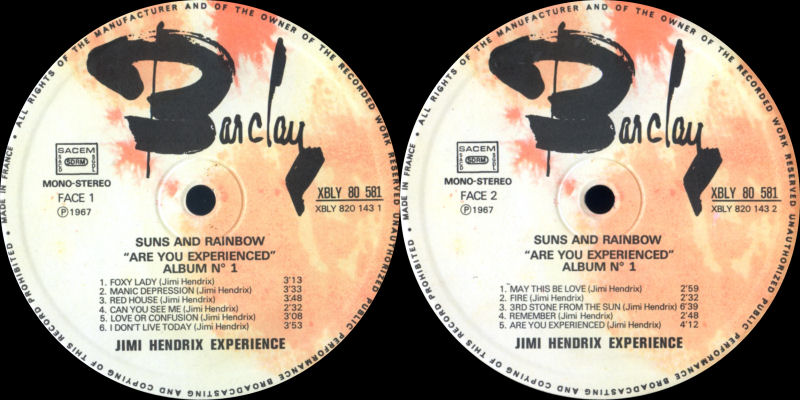 Discographie : Made in Barclay - Page 2 SunsandRainbowvolume1BarclayLabel1_zps123b02a6