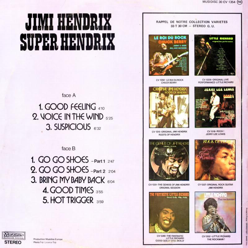 Discographie : Enregistrements pré-Experience & Ed Chalpin  - Page 2 SuperHendrix5