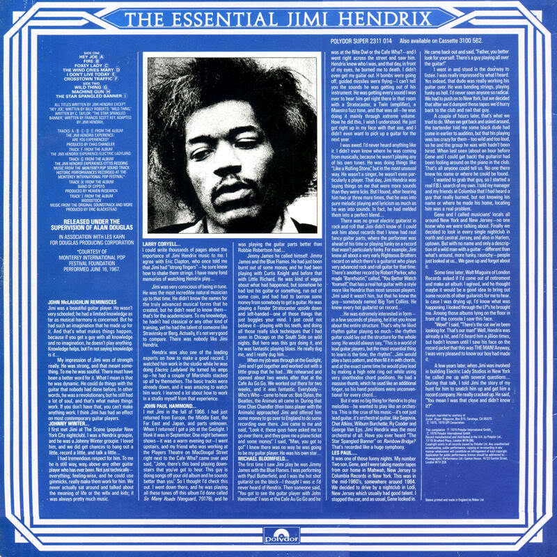 Discographie : Rééditions & Compilations - Page 5 TheEssentialVolumeTwoBack