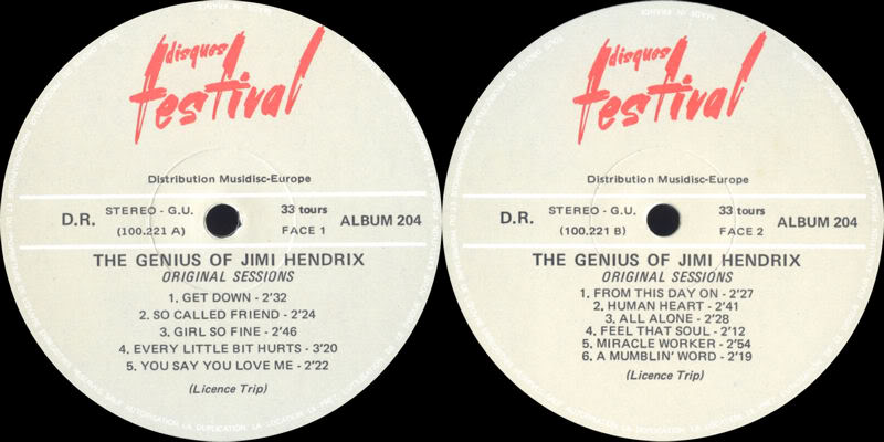 Discographie : Enregistrements pré-Experience & Ed Chalpin  - Page 5 TheGeniusOfJimiHendrixOriginalSessionsLabel2
