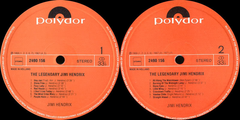 Discographie : Rééditions & Compilations TheLegendaryLabel