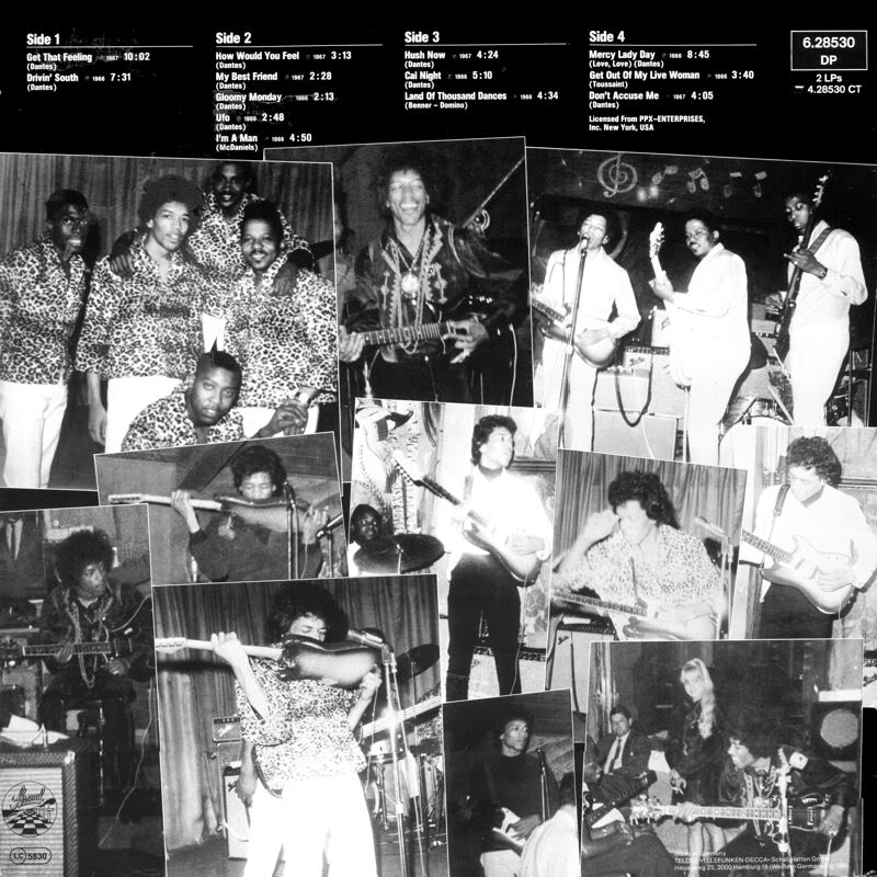Discographie : Enregistrements pré-Experience & Ed Chalpin  - Page 2 TheLegendsOfRockBack