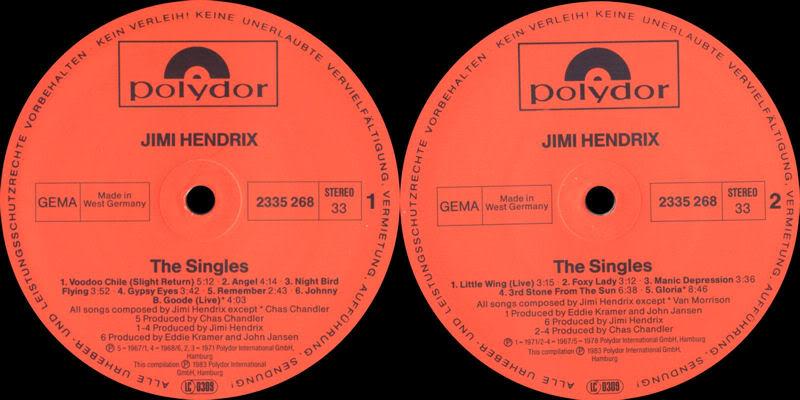Discographie : Rééditions & Compilations - Page 3 TheSinglesAlbumLabel2
