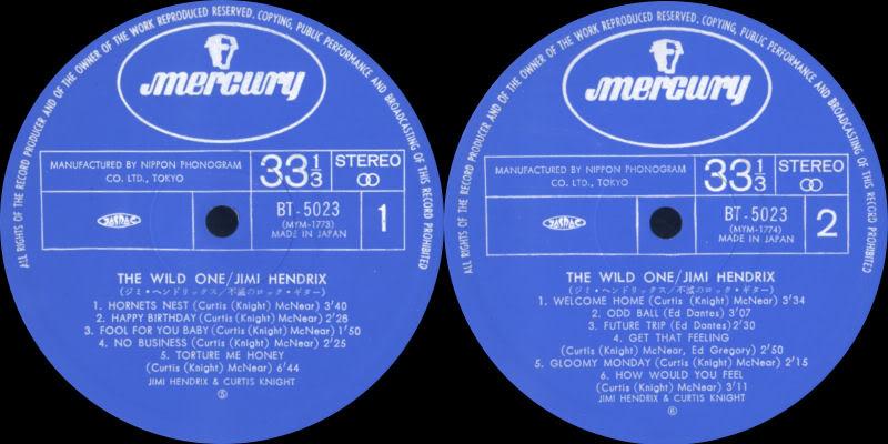 Discographie : Enregistrements pré-Experience & Ed Chalpin  - Page 2 TheWildOneJapanlabel