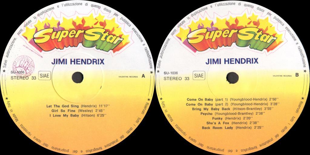 Discographie : Enregistrements pré-Experience & Ed Chalpin  - Page 6 ValentineSU-1036-SuperStarVol2Label_zps1554ac68