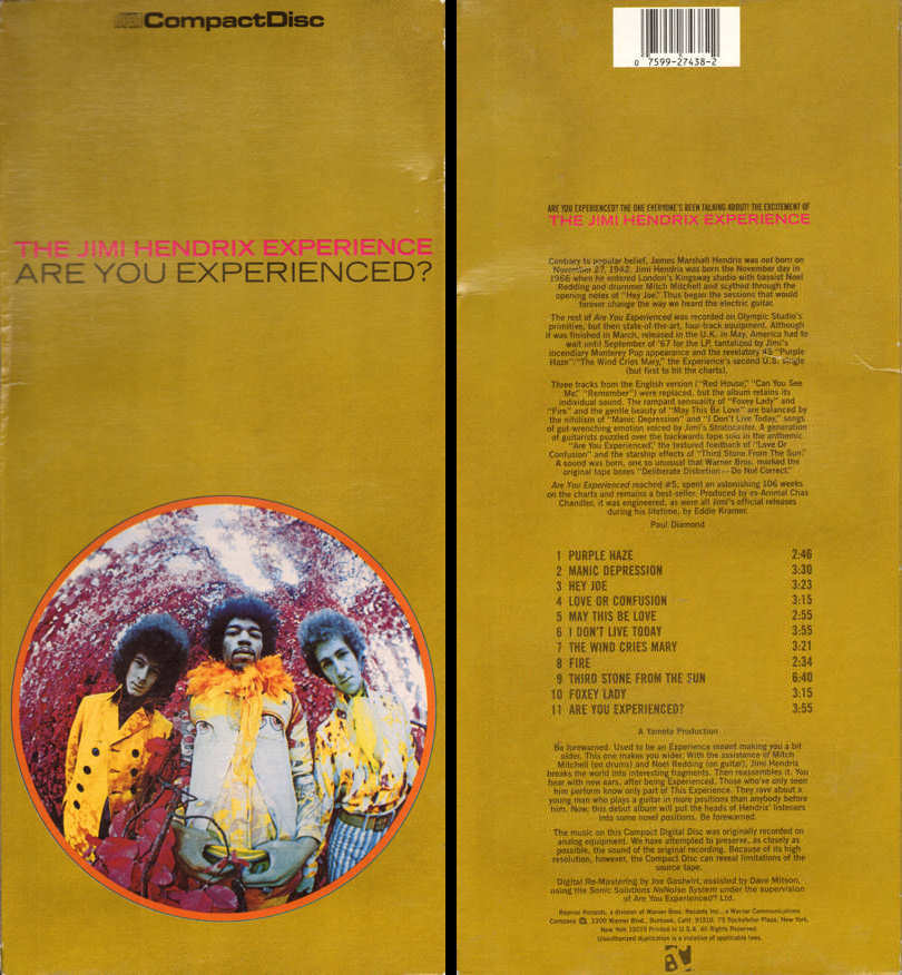 Discographie : Compact Disc   - Page 6 AreYouExperienced-Reprise6261-2LongBox