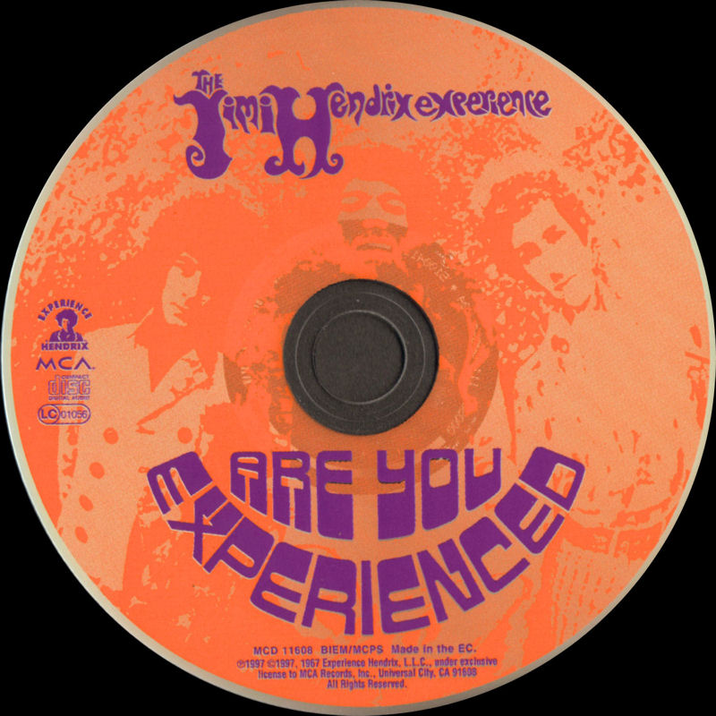 Discographie : Compact Disc   - Page 2 AreYouExperiencedMCARecords111608-21997ADDLabel_zpsa08d66ef