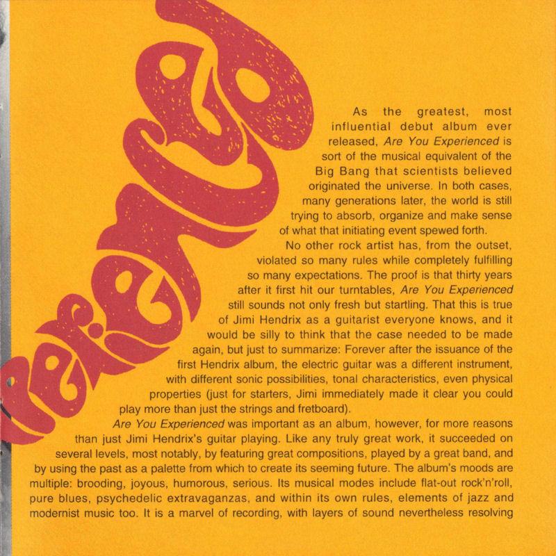 Discographie : Compact Disc   - Page 2 AreYouExperiencedMCARecords111608-21997ADDLivret07_zps25656195