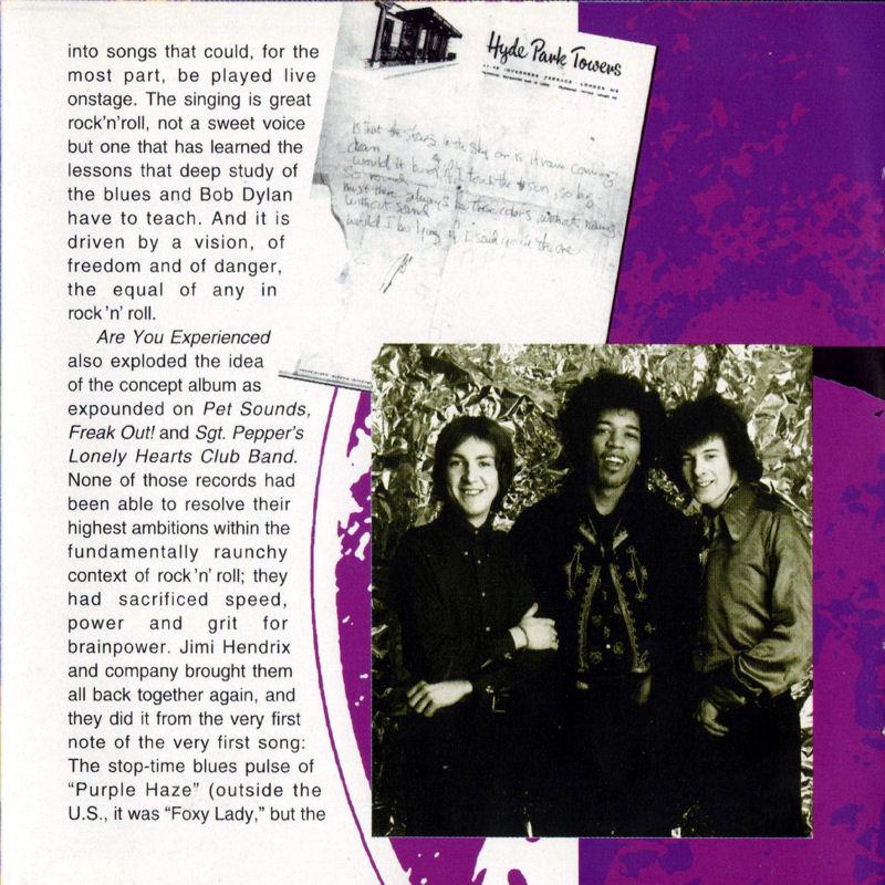 Discographie : Compact Disc   - Page 2 AreYouExperiencedMCARecords111608-21997ADDLivret08_zps9e7f576a